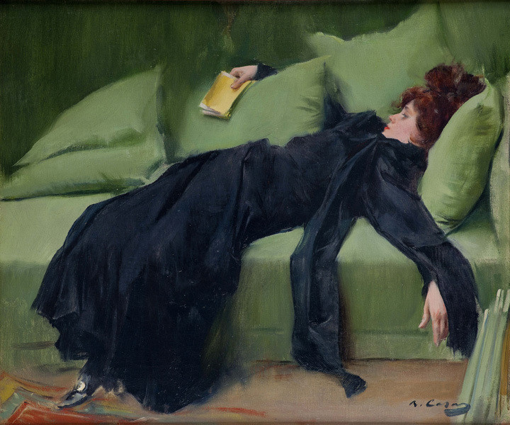 Decadent Young Woman after the Dance, 1899